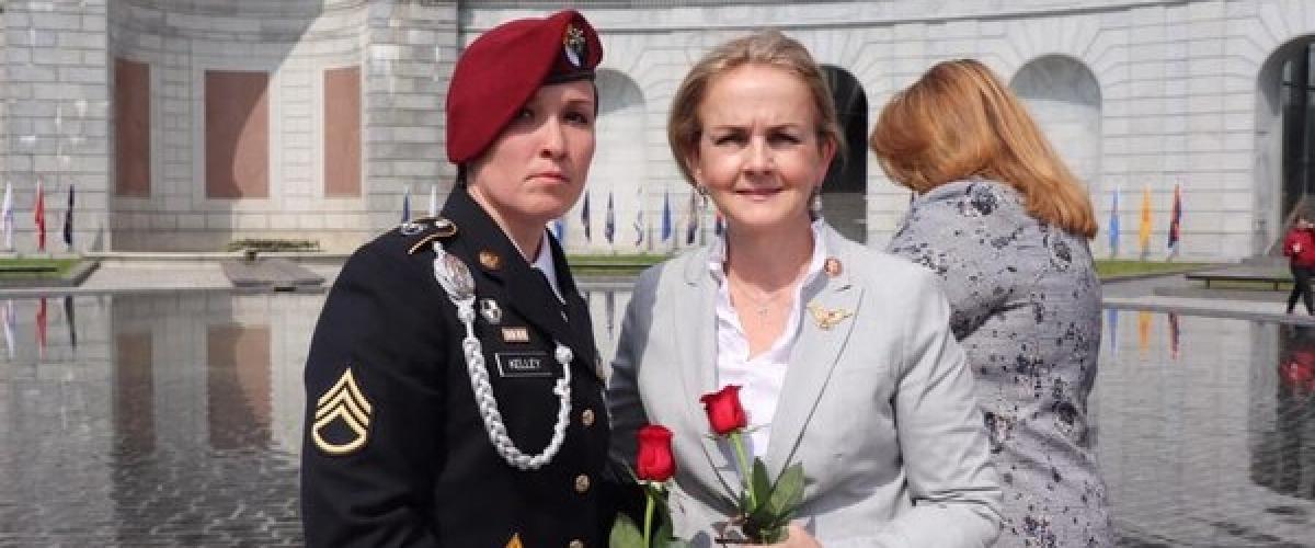Staff Sgt Amanda Kelley Ranger Graduate